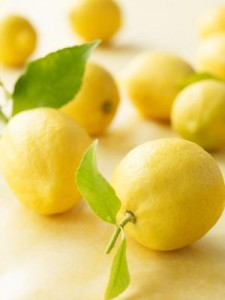 Green Spring Cleaning Lemons
