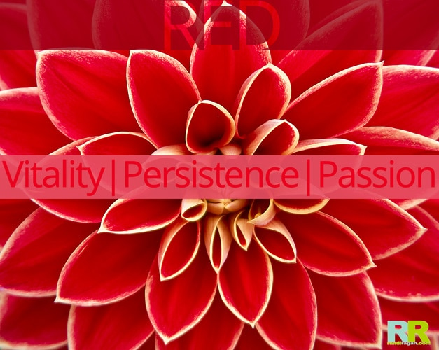 Red :: Vitality - Persistence - Passion